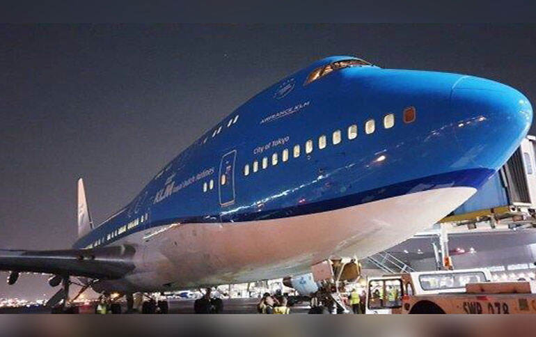 "De ""Queen of the Skies"" Boeing 747 cargo"